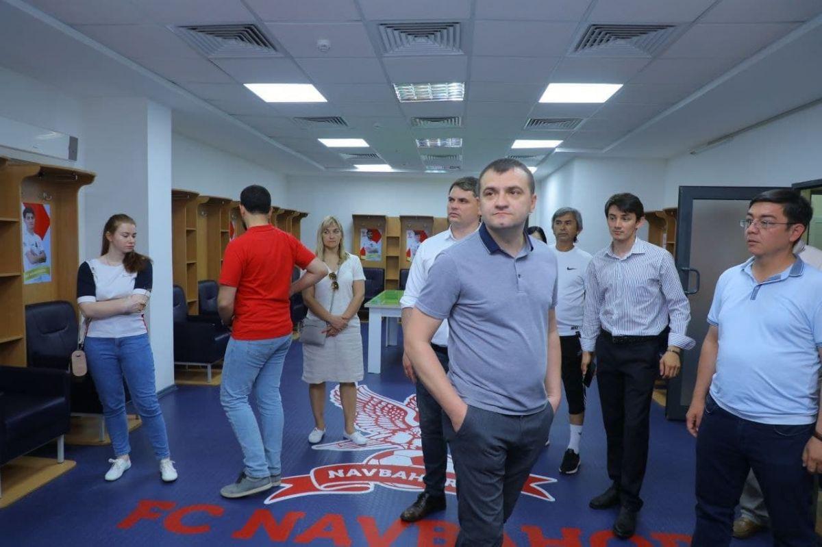 Украиналиклар стадионимизда меҳмон бўлишди